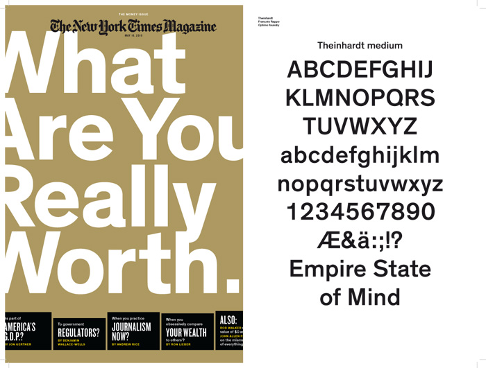 new york times magazine font. The New York Times Magazine,