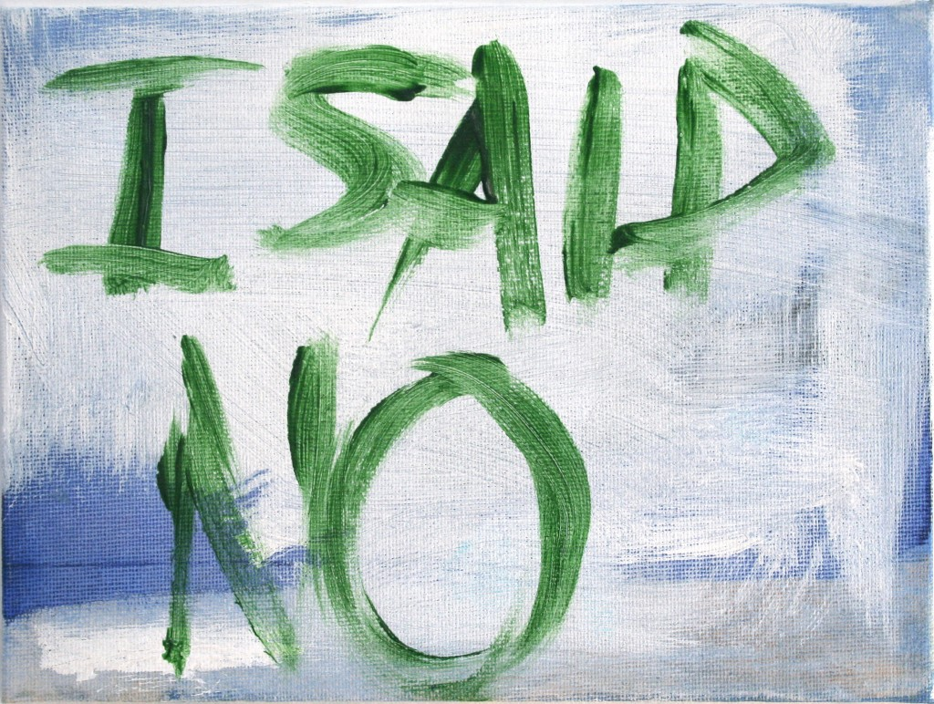 tracey-emin-i-said-no-acrylic-on-board-c2a9-the-artist