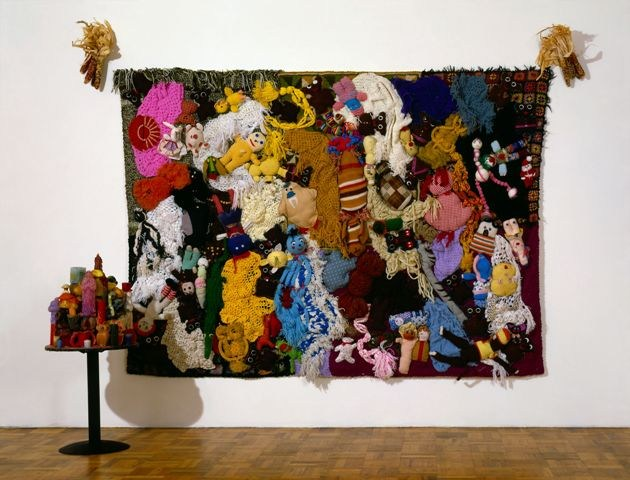 Mike Kelley (1954-2012), 'More Love Hours Than Can Ever Be Repaid and The Wages Of Sin', 1987. Collection Whitney Museum of American Art, New York; funded by the Painting and Sculpture Committee. Courtesy Mike Kelley Foundation for the Arts