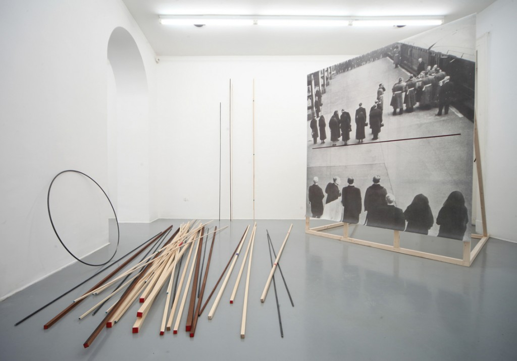 <em>Seb Patane</em> Imperial (Enter Chorus and Actors), 2011 mixed media courtesy Collezione Giuliani, Roma e Galleria Fonti, Napoli