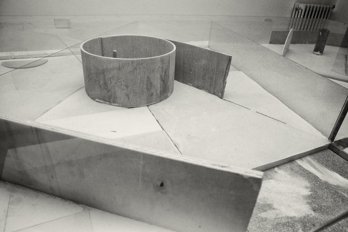 <em>Dominik Lang</em>, Missing Parts, 2013, installation view, courtesy The Gallery Apart, Rome