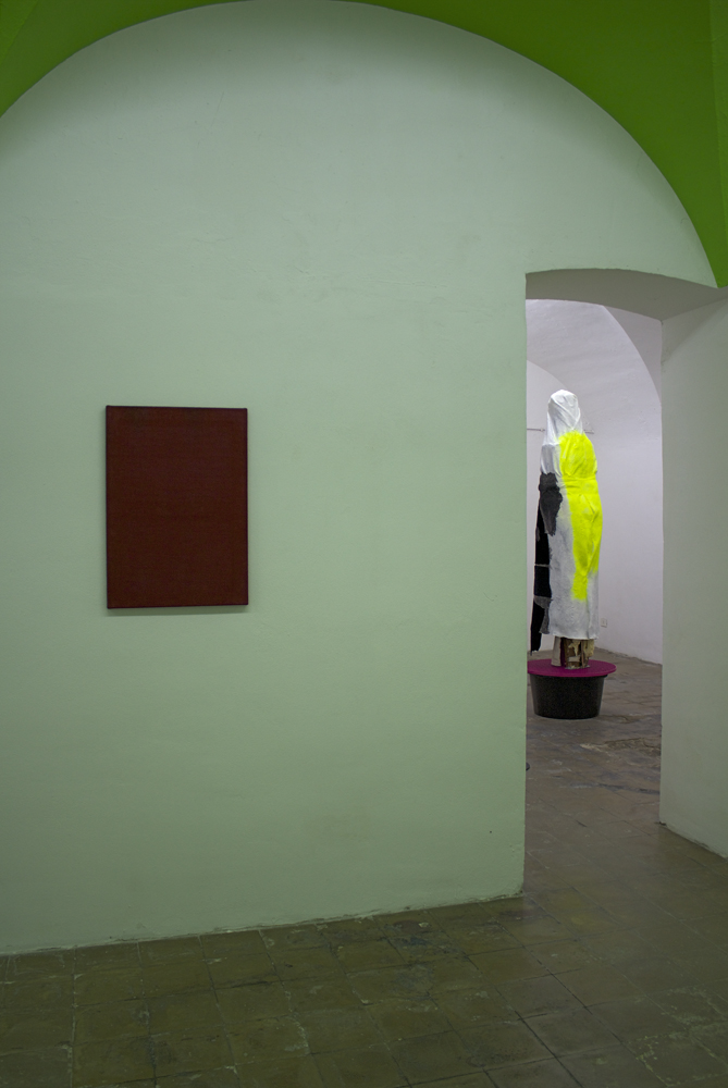 <em>Thomas Kratz</em>, LICK GIN, installation view