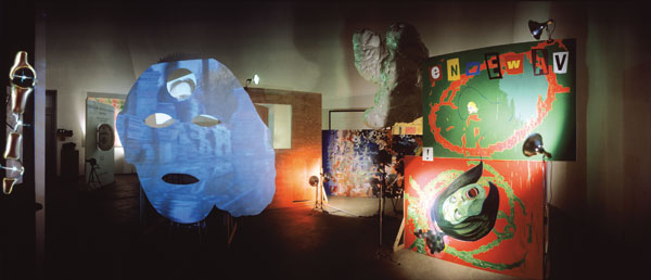 Mike Kelley and Tony Oursler The Poetics Project, 1977-1997, Documenta Version, 1997
