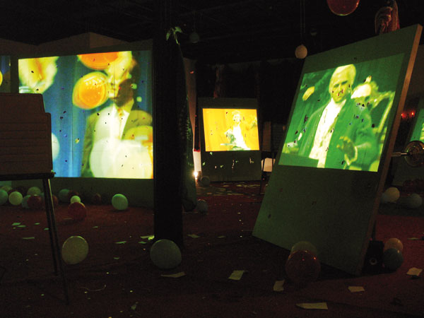 Stephen G. Rhodes, Interregnum installation view, US Mint, New Orleans, 2008
