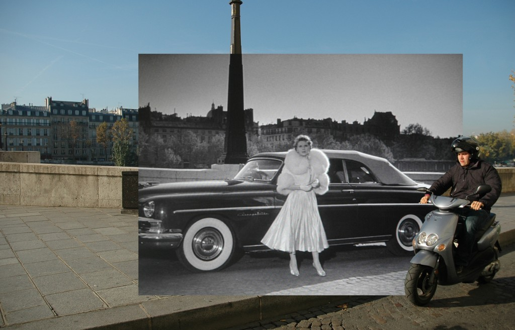 <em>Gea Casolaro</em>, Still here_L'air de Paris - Quai d'Orleans, 2009-2012, fotografia digitale stampata su alluminio/digital photo print on aluminium, cm 64x100x2, courtesy The Gallery Apart, Roma