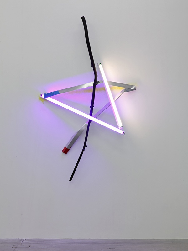 "<em>Star Light</em>, 2013, Mark Handforth, ""Capricorn"" installation view at Galleria Franco Noero, Turin, 2013  Courtesy: the artist and Galleria Franco Noero. Photo: Sebastiano Pellion di Persano"